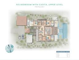 Six Bedroom Floor Plans Park Haciendas U2013 Chileno Bay Golf U0026 Beach Club