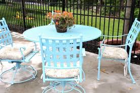 Retro Patio Furniture Patio Furniture Cushions As Patio Chairs With Inspiration Blue