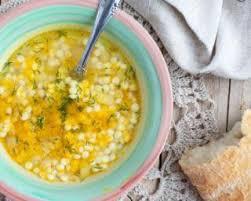 cuisiner courgette jaune recette de soupe de pâtes à la courgette jaune