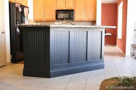 wainscoting kitchen island wainscoting kitchen island new remodelaholic