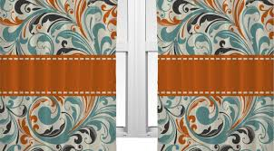 Paisley Shower Curtain Blue by Curtains Orange And Blue Curtains Marvelous Orange And Navy Blue