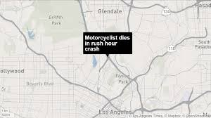 Sigalert Com Los Angeles Traffic Map by Fatal Motorcycle Crash Shuts Down 2 And 5 Freeway Connector La Times