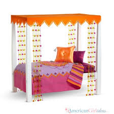 how to make american girl doll bed how to make julie s bed american girl ideas american girl ideas