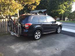 Subaru Forester 2014 Roof Rack by Bikes Subaru Bike Rack Hitch Thule Bike Rack For Subaru Forester