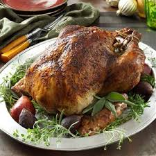 herb brined turkey recipe taste of home