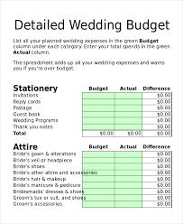 wedding budget planner budget planner 12 free excel pdf documents free