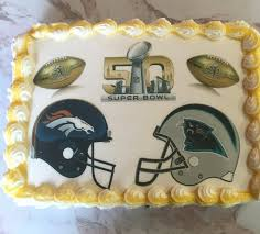 super bowl 50 cakes and cupcakes denver vs carolina maria u0027s