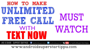 how to make your number on android how to make unlimited free call without showing your number by