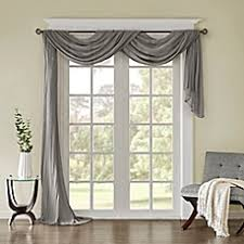livingroom valances window scarves window valances bed bath beyond