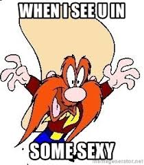when i see u in some sexy yosemite sam broken meme generator