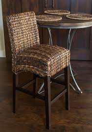Bar Stool Height For 45 Counter Amazon Com Bird Rock Seagrass Barstool Bar Height Hand Woven
