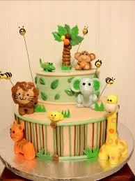 jungle baby shower cakes jungle theme babyshower cake pezuzu s cakes