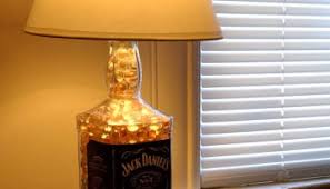 Lamps Made From Bottles Jack Daniels Bottle Lamp Easy Diy How To Make A Bottle Lamp