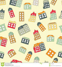 home sweet home seamless pattern stock vector image 88768066