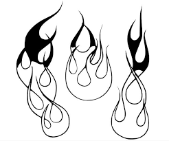 coloring pages of flames flame designs in cad what is easiest page 2