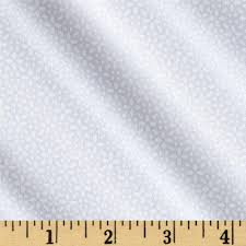 riley blake white on white daisy discount designer fabric