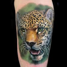 powerline tattoo tattoos evan olin color realistic cheetah