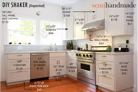 Shaker Door Style Kitchen Cabinets Cost Of Semihandmade Ikea Doors Company That Makes Semi Custom
