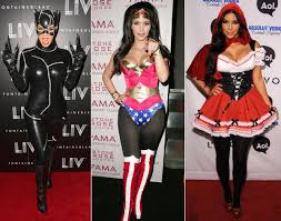 catwoman halloween suit kim kardashian 2012 2008 2010 photos best celebrity