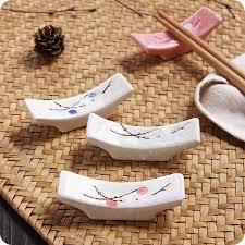 japanische k che 1 stück keramik schneeflocke essstäbchenhalter japanische küche
