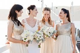 metallic gold bridesmaid dresses just sparkle metallic bridesmaid dresses the styled