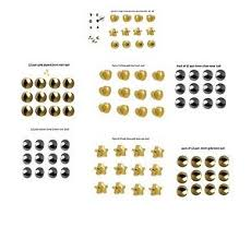 sterilized ear piercing studs 12 pair ear piercing studs regular mini various shape size sterile
