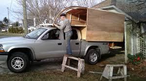Dodge Dakota Truck Cap - homemade off grid truck camper diy youtube