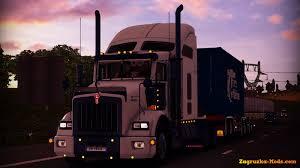 kenworth t800 truck kenworth t800 update v1 02 for ets 2 zagruzka mods com