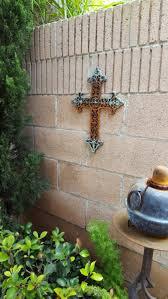 wall decor crosses cast iron wall decor cross shoreline ornamental iron