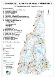 New Hampshire rivers images Designated rivers map new hampshire local river management jpg