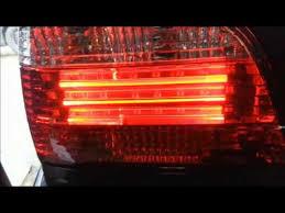 e38 euro tail lights 1995 bmw 740i e38 led tail lights youtube