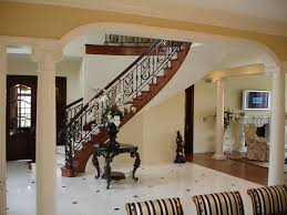 nifty stair railing ideas wood plus metal stair railings interior