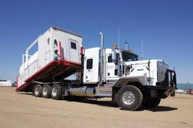 kenworth c500 gas oil mining contractor customized truck does heavy lifting