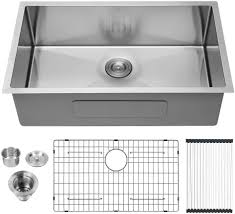 what size undermount sink fits in 30 inch cabinet 30 kitchen sink undermount lordear 30 inch undermount sink 16 single bowl stainless steel kitchen sink basin