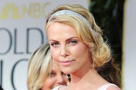 Charlize Ron Golden Globes Great Gatsby Hairstyles Women Medium