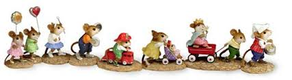 the house wee forest folk mice