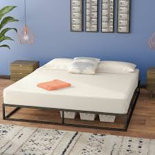 M S Bed Frames Zipcode Design Cyril Platform Bed Reviews Wayfair