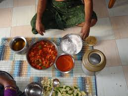 cuisine preparation file preparation of mango pickles jpg wikimedia commons
