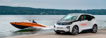 bmw i3 electric speed boats powered by bmw i3 batteries