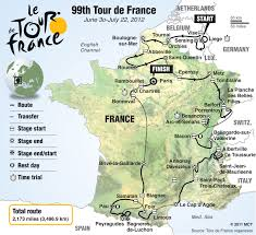 Tour De France Route Map by Tour De France 2012 U2013 Nie Rocks