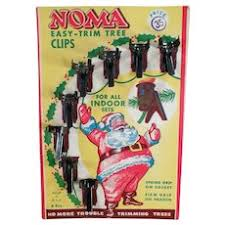 christmas tree light clips vintage 1939 set noma christmas tree lights red tag sale item sold
