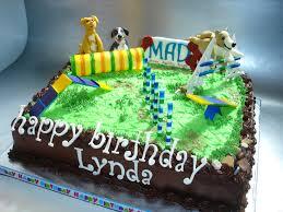 Dog Agility Cake Cakewalk Catering