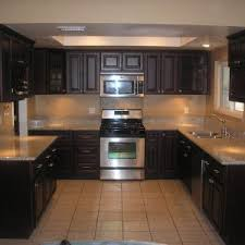Black And Oak Kitchen Cabinets - furniture wood cherry kitchen cabinets for furniture kitchen