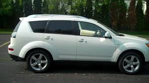 mitsubishi black old 2007 mitsubishi outlander at lochmandy motors youtube