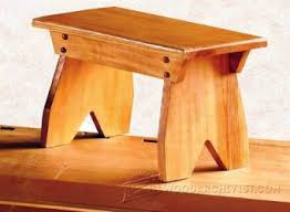 footstool plans u2022 woodarchivist