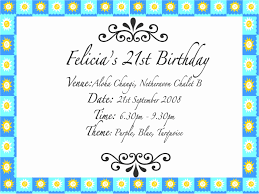 felicia u0027s 21st birthday invitation e card d josephinology