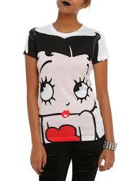 betty boop halloween betty boop face girls t shirt topic