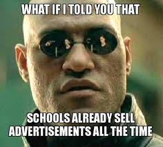 Schools Out Meme - advertising in schools this parent says it s t blackboard
