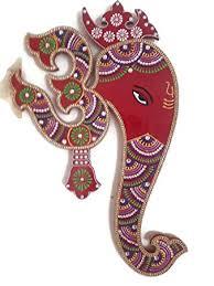 Amazoncom Indian Wall Decor Artwork From India Hindu God - Indian wall hanging designs