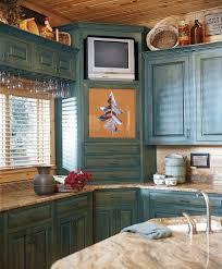corner cabinet kitchen craftsman with stainless backsplash subway